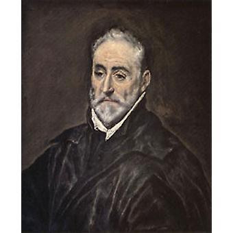 Antonio de Covarrubias y Leiva, El Greco, 50x40cm