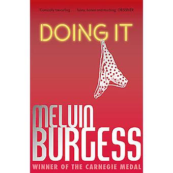 Doing It by Melvin Burgess - 9781783440634 Book