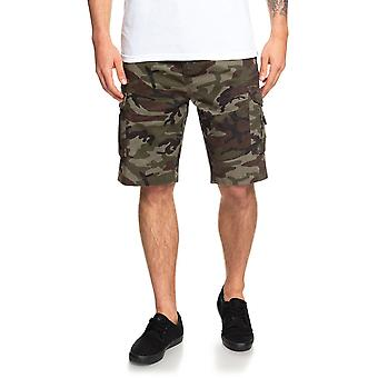 Quiksilver Crucial Battle Cargo Shorts in Camo Print