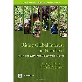 Kasvava maailmanlaajuinen kiinnostus viljelysmaan: se tuottaa kestävää ja oikeudenmukaista etuja? (Maatalous ja maaseudun kehittäminen...