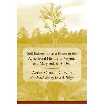 Bodem uitputting als een Factor in de agrarische geschiedenis van Virginia en Maryland, 1606-1860