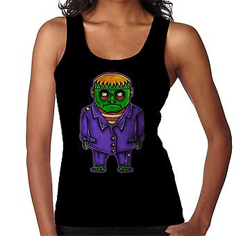 Cartoon Frankenstein Monster Women's Vest