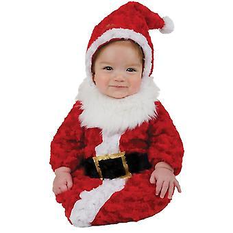 Costume de bébé de Santa