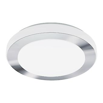Eglo - LED 16w Carpi decoratieve Chrome ronde badkamer plafond licht EG95283