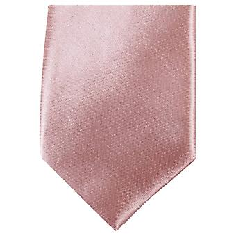 Knightsbridge dassen slanke Polyester ex aequo - naakt roze