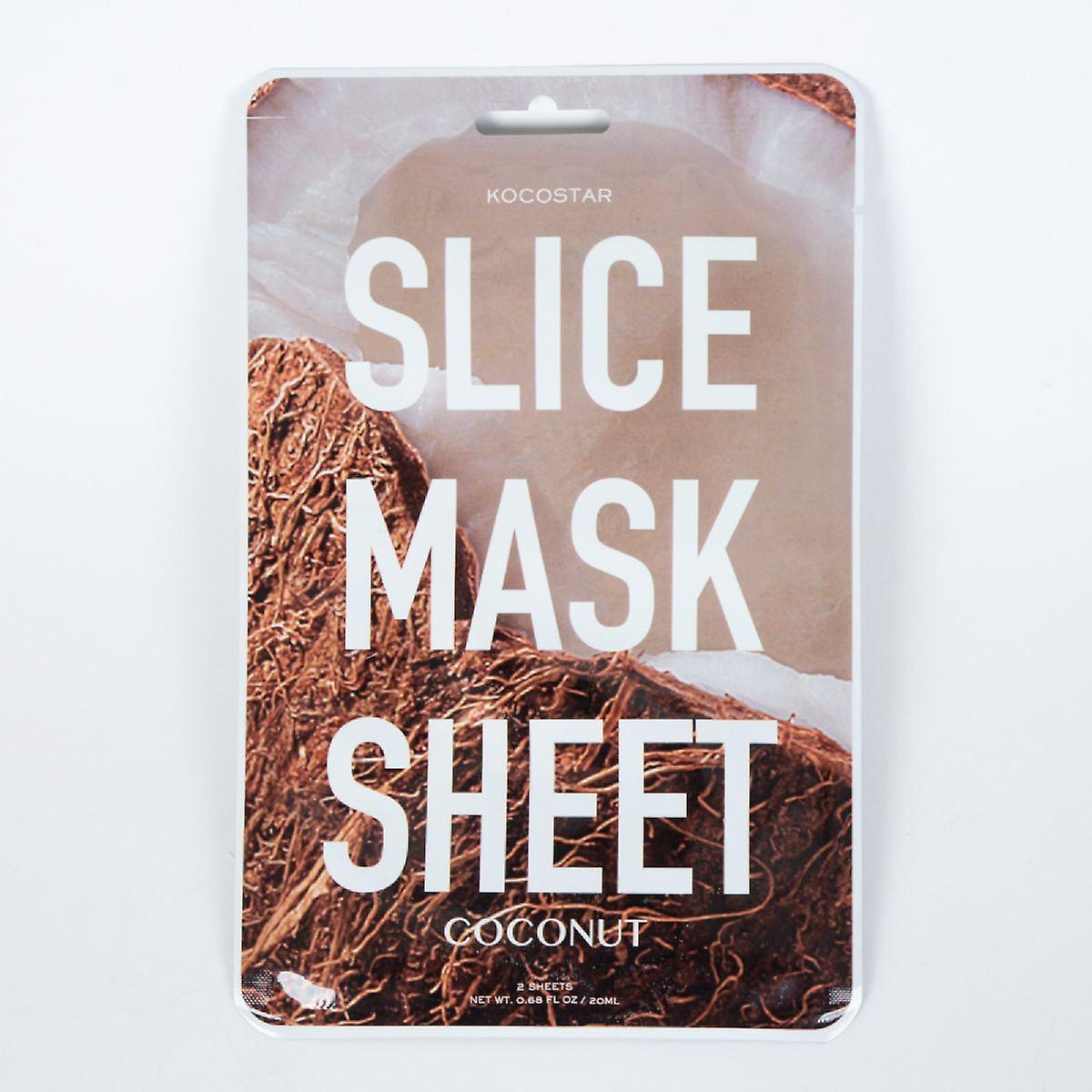 Kocostar Coconut Slice Mask - Contains 12 Patches