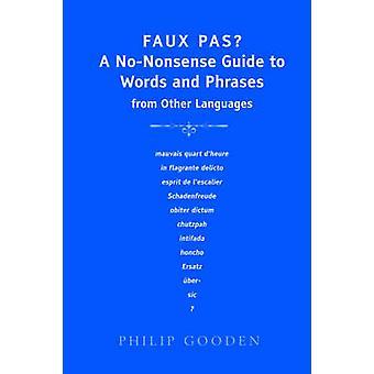 Faux Pas, duży druk przez Gooden & Philip