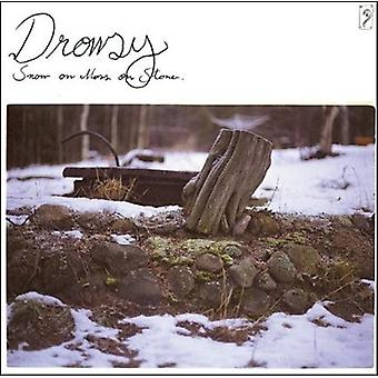 Drowsy - Snow on Moss Stone [CD] USA import