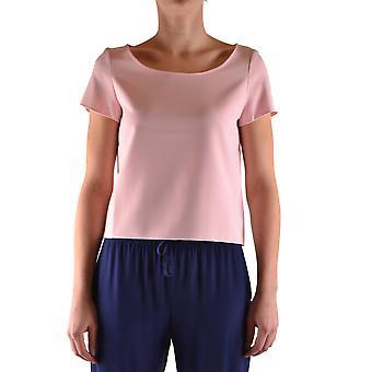 One Ezbc267006 Women's Pink Polyester T-shirt