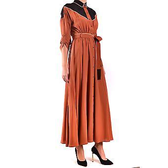 L.a L.a Tex Exbc287001 Women's Bronze Silk Dress