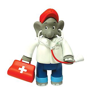 Jazwares - Benjamin the Elephant (As a Doctor) Toy
