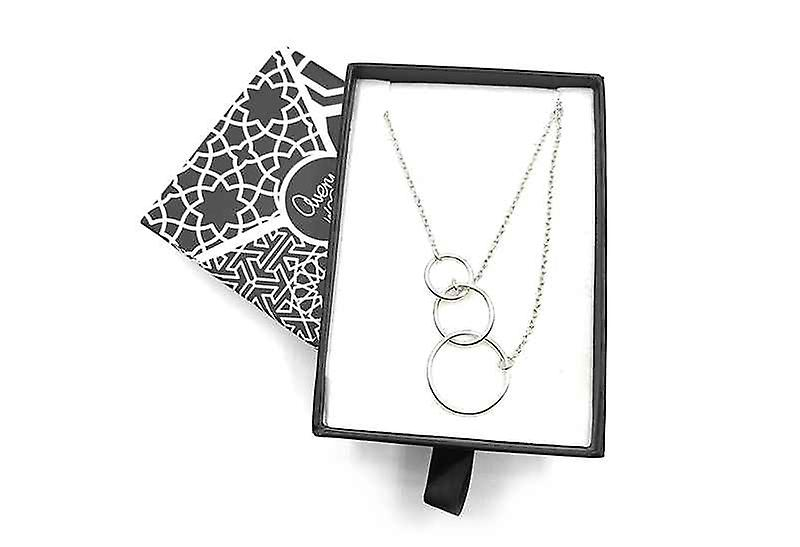 Handmade Byzantine Geometry of Life Clavicle Chain Necklace