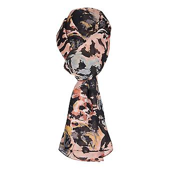 Abstract Floral Print sjaal