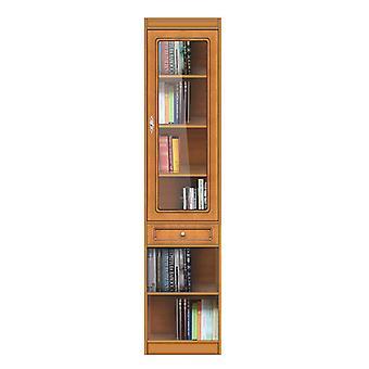 Librería modular con puerta de cristal