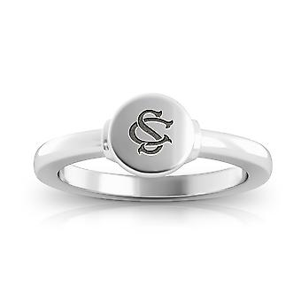 University of South Carolina graviert Sterling Silber Siegel Ring