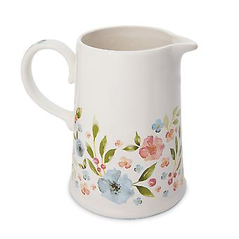 Cooksmart Country Floral Utensil Jug