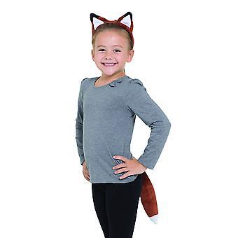 Bristol Novelty Childrens/Kids Fox Set