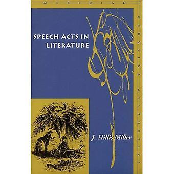 Sprechakte in der Literatur