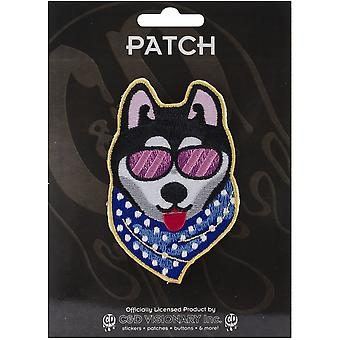 Patch - Animals - Cool Dog Iron On Gifts New Licensed p-3565