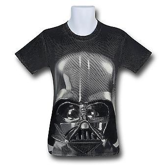 T-shirt dos homens da cópia de Star Wars Darth Vader ' s