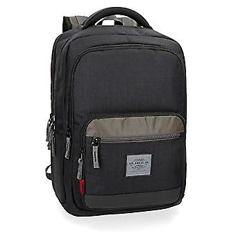 Pepe Jeans Brand Double Compartment Laptop 15.6' Backpack