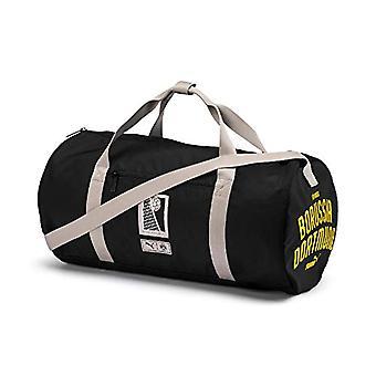 PUMA BVB Premium Barrell Tasche - Erwachsene Unisex Tasche - Schwarz-Cyber Gelb - OSFA