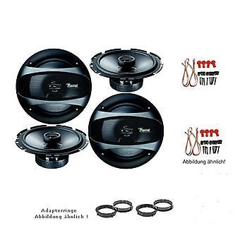 Audi A4, A4 Avant, Lautsprecher Einbauset, Tür vorne und hinten