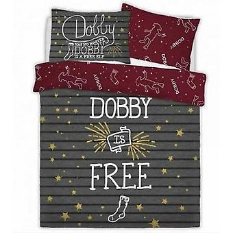 Harry Potter Dobby L'elfo Reversible Duvet Set