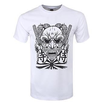 Onorthodoxe collectieve mens Samurai masker T-shirt