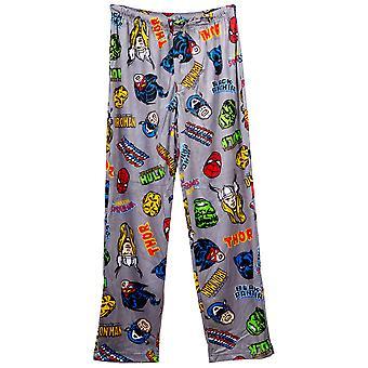 Marvel Universe Heroes Fleece Sleep Pants