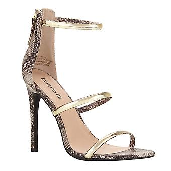 Bebe Womens Berdine Open Toe Casual Ankle Strap Sandals