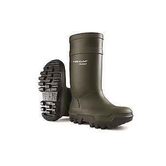 Dunlop C662933 Purofort Thermo + fuld sikkerhed Wellington / Herre støvler / sikkerhed gummistøvler