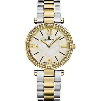 Delbana - Wristwatch - Ladies - Dress Collection - 52711.589.1.526 - Nice