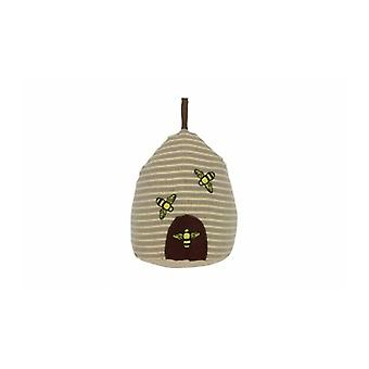 Gisela Graham Fabric Beehive Doorstop