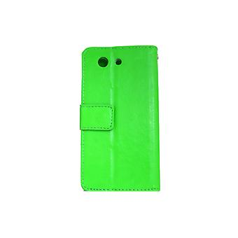 Wallet Case Sony Xperia Z3 Compact ID pocket + wrist Strap