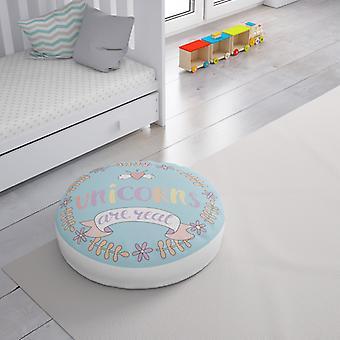 Meesoz Floor Cushion - Unicorns Are Real