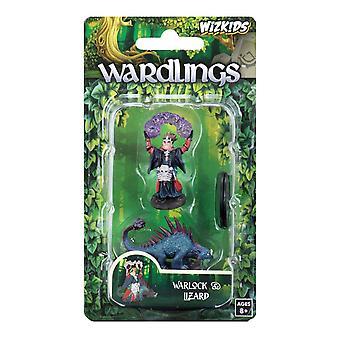 Wizkids Wardlings Boy Warlock & Lizard (Pack of 6)