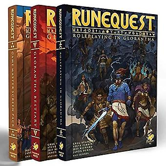 Deluxe Slipcase Set RuneQuest RPG Roleplaying in Glorantha