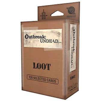 Loot Card Deck: Outbreak Undead 2E: The Survival Horror Simulation RPG