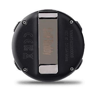 Golfbuddy VoiceX compact vooraf geladen GPS-clip-on