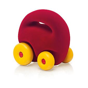 Rubbabu Original Mascot Car Red Eco Friendly Child Kid Toy Vehicle Playset