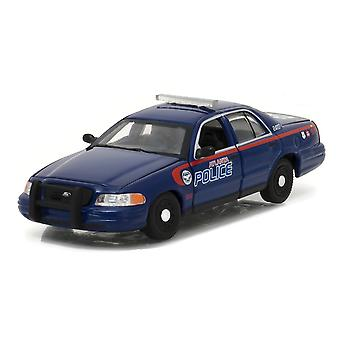 Ford Crown Victoria Atlanta Diecast Model Car from The Walking Dead