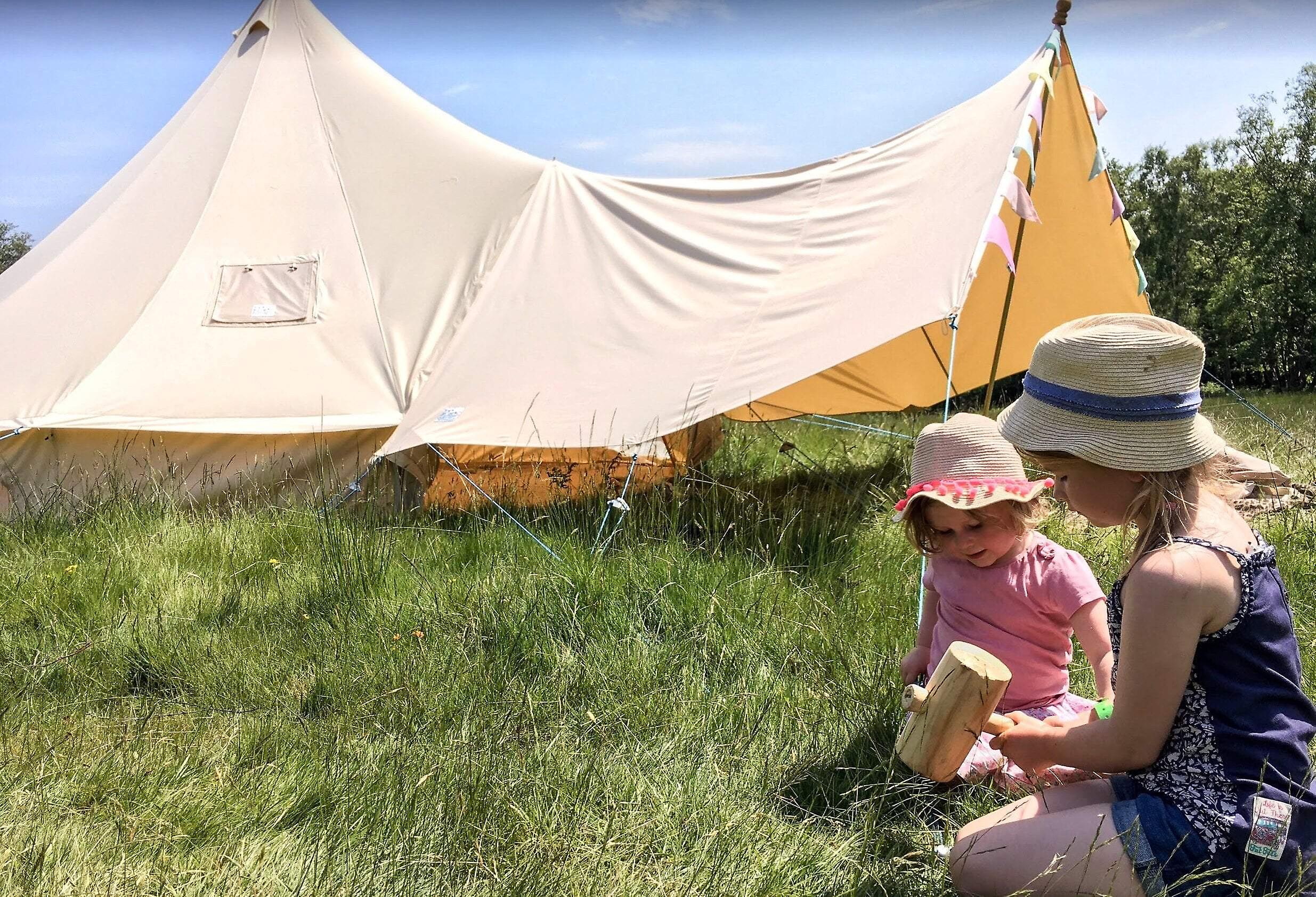 Large Canvas Bell Tent Awning 400 x 240 – 2 pole   Fruugo NO
