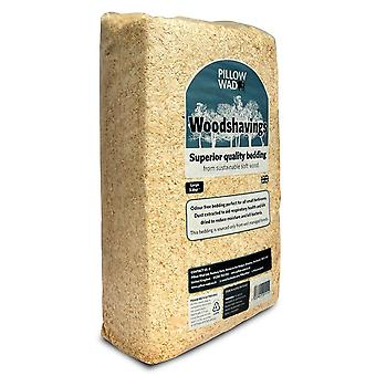 Pillow Wad Woodshavings Bedding