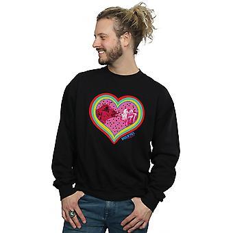 DC Comics män ' s rovfåglar kärlek hyena Sweatshirt