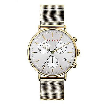 Ted Baker BKPMMF902 Men-apos;s Mimosaa Gold Tone Chronograph Montre-bracelet