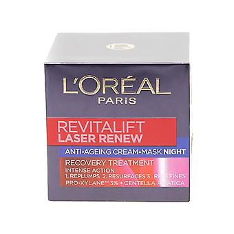 L'Oreal Paris Revitalift Laser Renew Anti Ageing Creme Nachtmaske 50ml intensive Aktion
