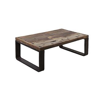 Light & Living Coffee Table 120x80x45cm Cuenca Railway Wood