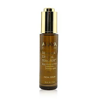 Ahava Dead Sea Crystal Osmoter X6 Facial Serum (box Slightly Damaged) - 30ml/1oz
