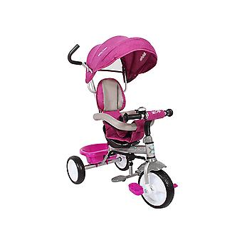 RideonToys4u Easy Steer Pedal Buggy Trike Magenta Ages 18 Months+